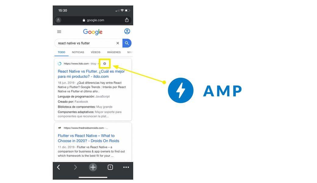 Mejora el SEO de tu sitio web móvil con AMP
